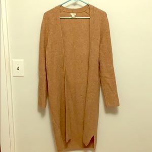 J Crew Factory Car-Coat Sweater